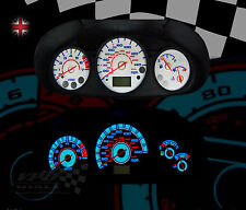 Ford puma speedo dash clock custom lighting upgrade interior white dial kit