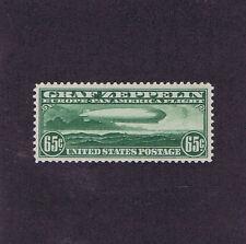 SC# C13 UNUSED OG LH 65c GRAF ZEPPELIN AIR MAIL, 1930, VERY FINE EXTRA FINE.