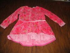 BOUTIQUE EURO CAKEWALK 98 3T PINK FLORAL DRESS