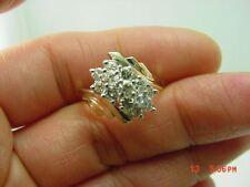 Stunning 14Kt Y/G Ladies Diamond Right Hand Ring #2716