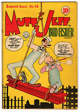 MUTT & JEFF #14 4.5 OFF-WHITE PAGES GOLDEN AGE