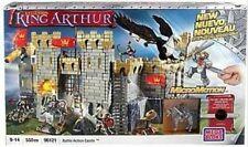 Mega Bloks Legends King Arthur Battle Action Castle Set 96121 New 550 pieces