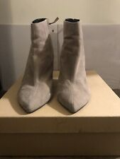 Dolce Vita Taupe Suede Wedge Pointed Toe Booties Size US 10