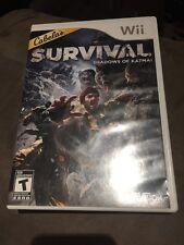 Cabela's Survival Shadow Of Katmai For Nintendo Wii