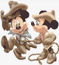 Lazo De Amor Disney puntada cruzada contada Kit Mickey & Minnie Mouse/Disney