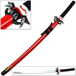 Blood-C Anime Saya Kisaragi Katana Replica Sacred Blood Red Sword Fang Blood+ C
