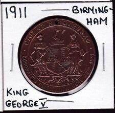 1911 Birmingham King George V Coronation Medal