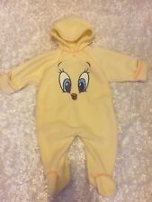 Unisex Baby Bunting Looney Tunes Tweety 6-9 Months Yellow