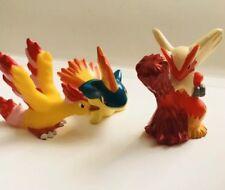 Fire-Moltres Blaziken Quilava Pokemon Nintendo Bandai 3 Figuras De Juguete De Colección Set
