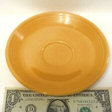 Old Yellow Fiesta Saucer 1936-1969 Beautifully Ringed Clearly Marked MUST SEE!!