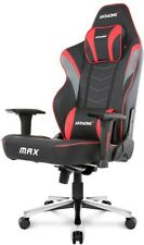 AK Racing Master Max PU Leather Red