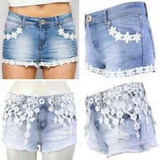 Cotton Floral Mid Rise Regular Size Shorts for Women