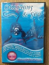 Dolphins and Sea...New DVD Free Shipping Stunning imagery above and below waves