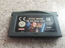 Star Wars: The New Droid Army nintendo game boy advance
