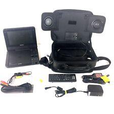 "Sony Portable Cd Dvd Player 7"" Screen Model Dvp Fx750 Remote, Case Accessories"