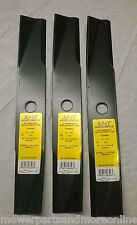 3 x Toro Ride-on Lawn Mower Blades- Toro 117192, 106077, 106636 - 42 Inch Cut