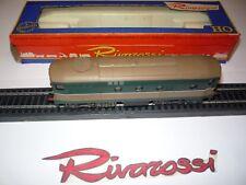 """RIVAROSSI-RARITA' LOCOMOTORE DIESEL ELETTRICO D 341 FIAT FS """"42"""" - 1967 - OTTIMO"""