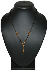 One Gram 24kt Gold Plated Neck Mangalsutra 18 Inch For Women Daily Wear 857