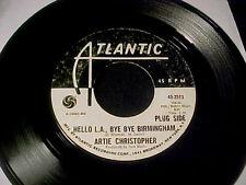 ARTIE CHRISTOPHER~Hello LA, Bye Birmingham/Stoned Soul MOD SOUL FUNK DJ PROMO 45