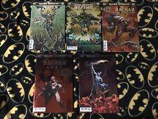 DARK KNIGHTS METAL TIE IN Lot 5 Comic Set 1st Print Foil Drowning Wild Hunt +++