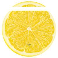 Staubsauger-Roboter Zitrone Aufkleber Folie Zubehör Medion MD 18501/19510 RX020