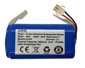 Shark Ion RV750, RV720, RV700 Robot Vacuum Replacement Battery (3 Prongs plug)