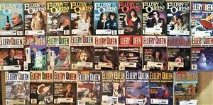 LOT OF 26 ELLERY QUEEN 'S MYSTERY MAGAZINE (from 1990 - 1996)