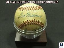 NobleSpirit } 1946 Boston Red Sox Ted Williams & All Stars High Grade Signatures