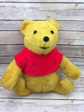 "Vintage Plush Winnie The Pooh 14"" Solid Build Unbranded Large Plush Handsome"