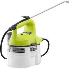Ryobi One+ 18 Volt Lithium Ion Cordless Chemical Sprayer No Pumping Tool Only
