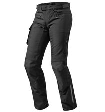 PANTALONI MOTO REV'IT REVIT ENTERPRISE 2 SHORT H2O NERO IMPERMEABILI TG 4XL XZL