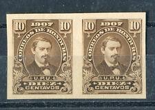 HONDURAS Rare Stamp - #123 Imperf Pair Mint, NH