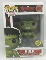 Hulk - 68 - Funko Pop! Vinyl Figure - Marvel Avengers Age Of Ultron - GITD GTC1