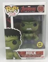 Hulk - 68 - Funko Pop! Vinyl Figure - Marvel Avengers Age Of Ultron - GITD GTC1