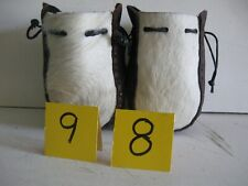New listing Auction Lot 98 A Pair Of Two Small Fur Faced Grab Bags 05032021