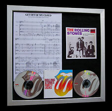 ROLLING STONES Get Off My Cloud QUALITY CD FRAMED DISPLAY+EXPRESS GLOBAL SHIP