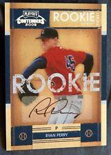 Detroit Tigers Ryan Perry 2008 Playoff Contenders Rookie Ticket Auto Card
