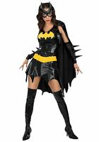 ADULT LADIES BAT GIRL WOMAN HALLOWEEN FANCY DRESS COSTUME 4 6 8 10 12 14 16/18