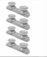 4 x Baumatic BDI631 BDW13 Dishwasher V Type Upper Basket Runner Supports