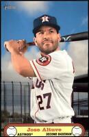 2021 Heritage 1972 Poster Boxloader #BPB-JA Jose Altuve - Houston Astros
