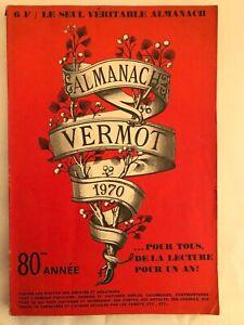 ALMANACH VERMOT 1970