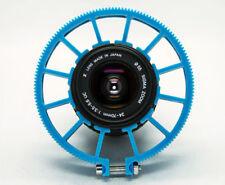 Cinematics Follow Focus Gear Ring Belt 60-70mm Adjustable for DSLR Lens blue