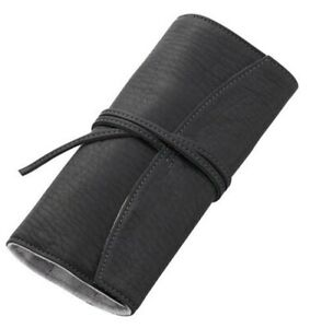 "Pilot NAMIKI ""Pensemble"" Pen Case Five Pens Leather Pen Wrap Black PSR5-01-B"