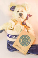 Boyds Bears: Andrei Berriman - Teddy Bear - Blue Stocking - 7 inch plush