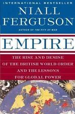 Empire by Niall Ferguson 2004 paperback