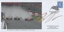 Bruno Senna Hand Signed British Grand Prix 60 Years Old - First Day Cover F1.