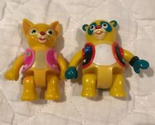 Disney's Special Agent Oso Figures Lot Oso & Dotty 2010 Learning Curve Rare