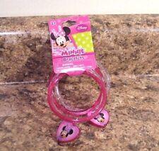 Disney Minnie Mouse Charm Bracelet Pink Set of 4 New