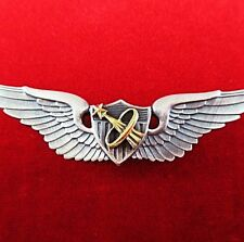 NASA ASTRONAUT U.S. ARMY PILOTS WINGS BADGE MEDAL AWARDED FOR SPACE MISSIONS