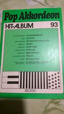 Pop Akkordeon Hitalbum Nr. 93, Bearbeitung Heinz Ehme, gebraucht